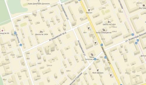 По соседству с проездом Соломенной сторожки находится Астрадамская улица, получившая свое название 23 января 1964 года, которая с 1922 по 1964 годы называлась 2-м Астрадамским тупиком.