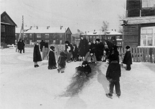 Астрадамский городок, 1952 год