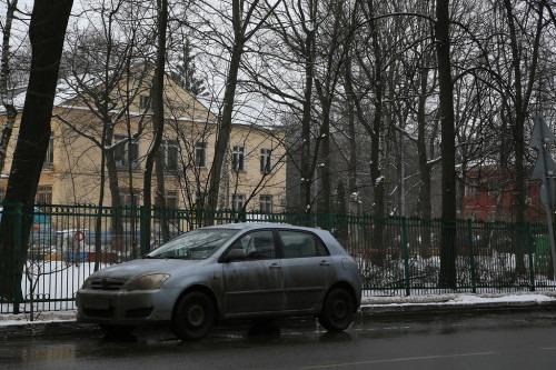 Бывшая дача Померанцевых стояла напротив современного дома 20.