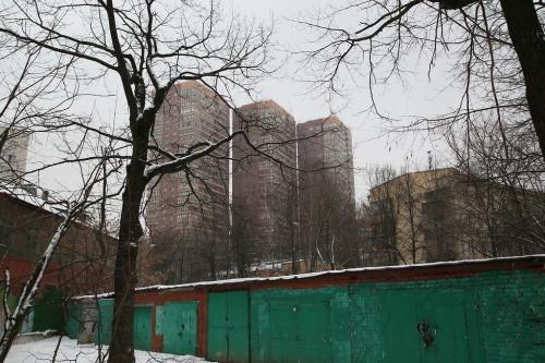 Вид на восточный фасад дачи Туркина в 2014 году