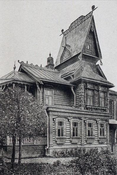Заказ исполнил архитектор Федор Горностаев, он же в 1904 году построил волшебный теремок с элементами модерна.