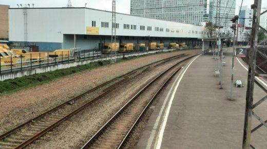 В 1990-е годы путевое развитие было снято, станция стала платформой. До снятия станция была приспособлена в том числе и для оборота электропоездов, следующих из Москвы.