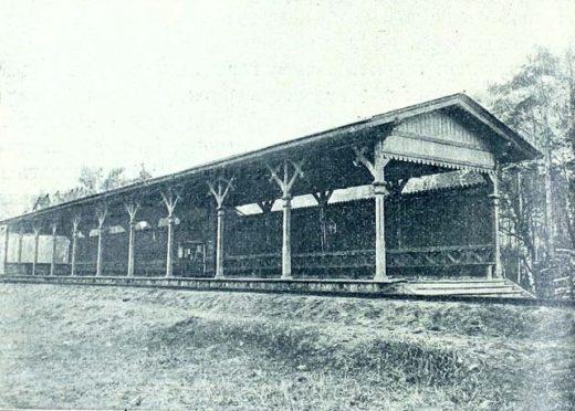 """Станция """"Зыково"""" (современная платформа """"Гражданская"""") открыта в 1901 году при строительстве железной дороги и названа по имени села Петровское-Зыково."""