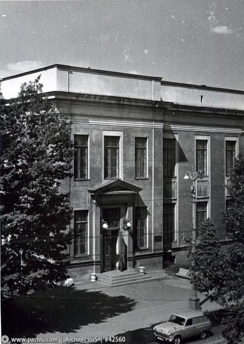 Музей Вильямса - самый крупный почвоведческий музей в России. 1969 год.