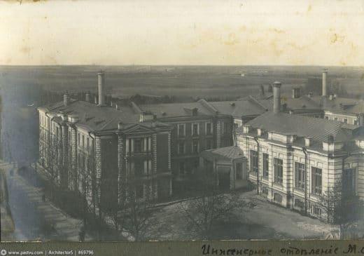 Инженерное отделение, 1911 год