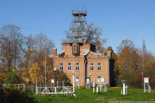 Метеорологическая станция при Академии появилась ещё в 1878 году