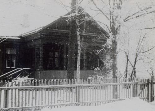 Бывшая дача Александры Семеновны Померанцевой стояла напротив современного дома №20.