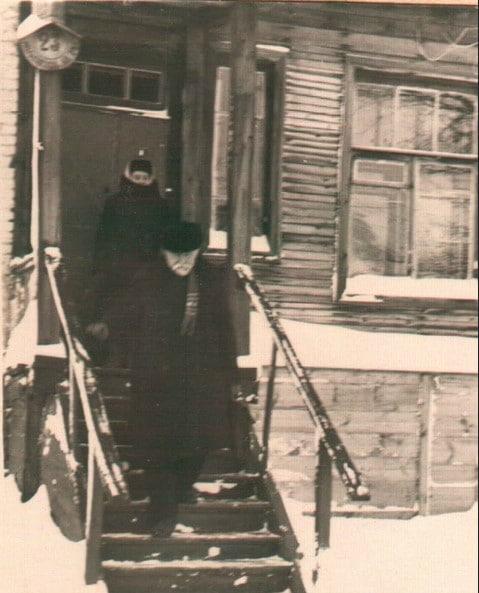 Дом №23, в котором жил академик Прянишников. Снимок 1947 года.