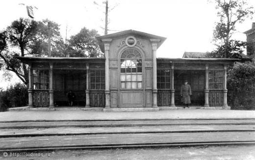 Старая трамвайная остановка