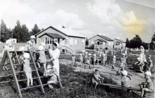 Детский городок Тимирязевской академии
