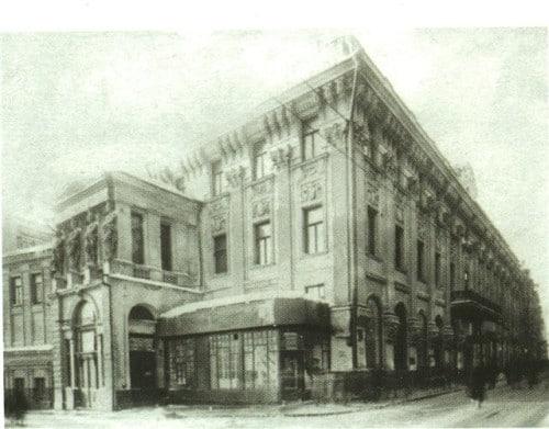 В 1880 г. Анна Алексеевна открыла первый частный театр под названием «Драматический театр А.А. Бренко в доме Малкиеля», который стал известен как «Пушкинский театр», поскольку он находился недалеко от памятника А.С. Пушкину на Тверском бульваре.