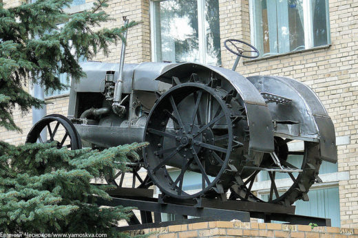 Первенец советского тракторостроения трактор СХТЗ 15/30 1934 года выпуска