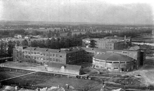12 учебный корпус, 1937-1938 годы