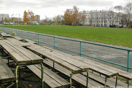 Старый стадион был построен в 1932 году