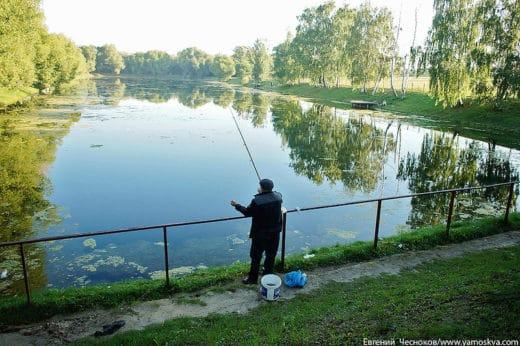 Нижний Фермский (Фермерский) пруд раньше назывался Обсерваторским (по находящейся рядом метеообсерватории).
