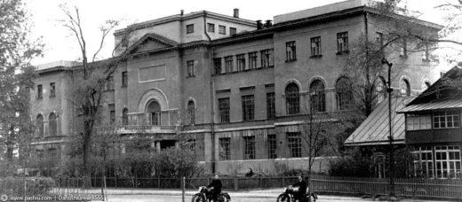 С 1924 года в этом здании располагался Инженерный факультет ТСХА, ныне это первый корпус Московского государственного университета природообустройства (МГУП).
