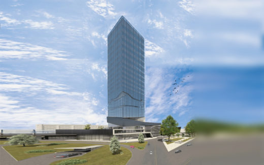 В начале Дмитровского шоссе, в составе транспортно-пересадочного узла, планируется построить жилой комплекс со встроенным детским садом и подземным паркингом.