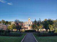 Яблони в Тимирязевской академии